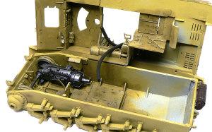 対戦車自走砲マーダー2 インテリアの塗分けと仕上げ