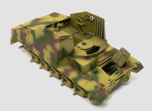 対戦車自走砲マーダー2 車体上下の貼り合わせ