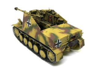 対戦車自走砲マーダー2 主砲Pak40の仕上げ