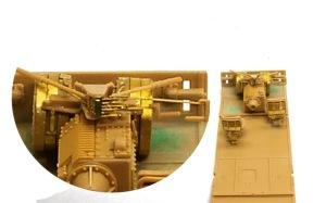 対戦車自走砲マーダー3H型 運転席
