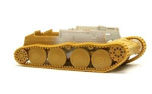 対戦車自走砲マーダー3H型 履帯の組み立て