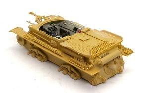 対戦車自走砲マーダー3H型 リアデッキが組み立て完了