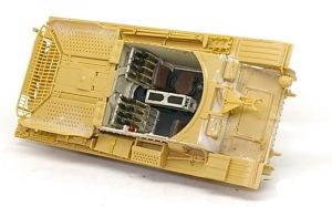 対戦車自走砲マーダー3H型 インテリアのウエザリング