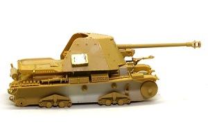 対戦車自走砲マーダー3H型 防盾の組み立て