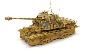 対戦車自走砲マーダー3H型 迷彩塗装