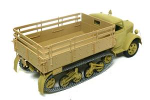 オペル・マウルティア 荷台と履帯の組み立て