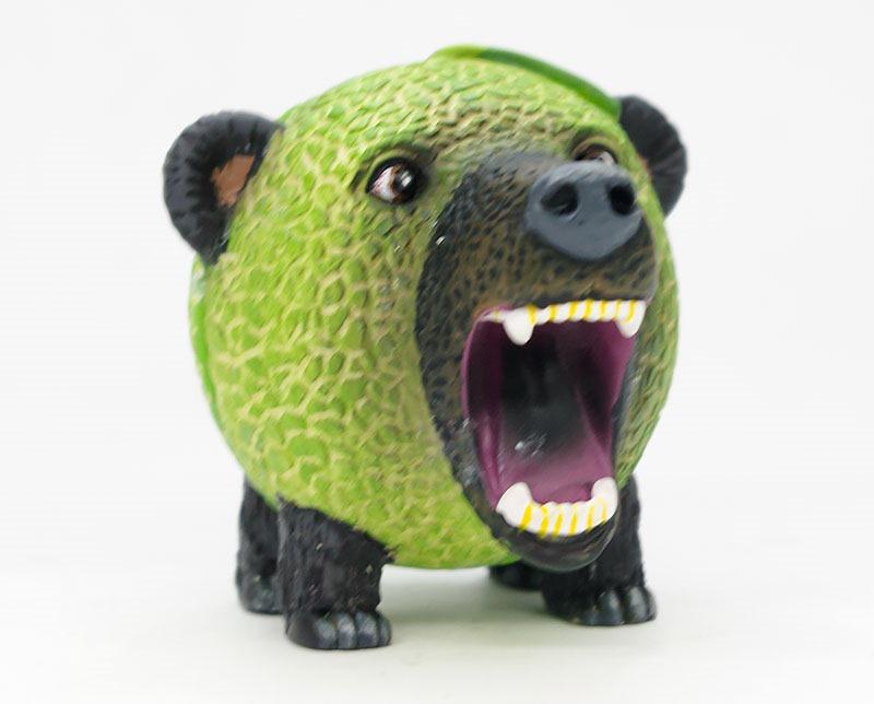 メロン熊のマスコット