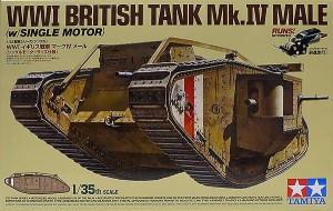 WW1・イギリス戦車・マーク4メール 1/35 タミヤ