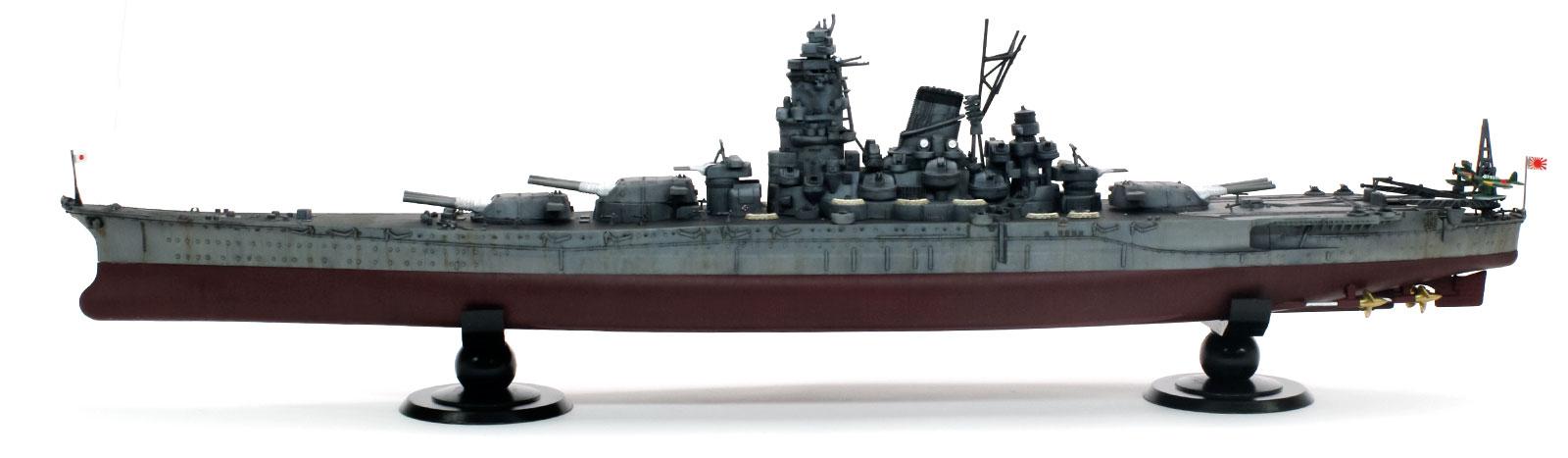 日本海軍・戦艦武蔵 1/700 フジミ