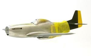 P-51Dマスタング 銀塗装