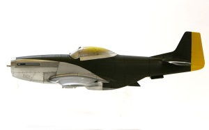 P-51Dマスタング 基本塗装完了