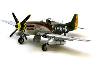 P-51Dマスタング 最終組み立てと細部の塗分け
