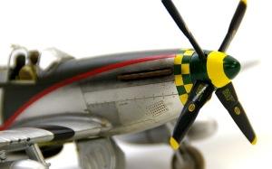 P-51Dマスタング ウエザリング
