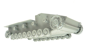 8.8cm対戦車自走砲ナスホルン 足まわりの組立て