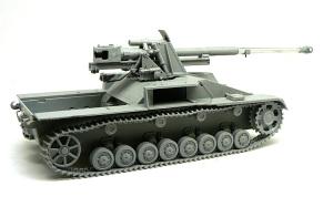 8.8cm対戦車自走砲ナスホルン 主砲Pak43の組立て