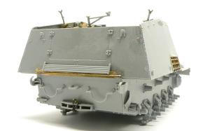 8.8cm対戦車自走砲ナスホルン 溶接痕の追加