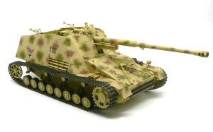 8.8cm対戦車自走砲ナスホルン 迷彩塗装、細部の塗分け、デカール貼り