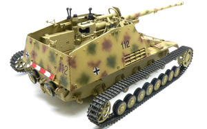 8.8cm対戦車自走砲ナスホルン ペリスコープなどの取り付け