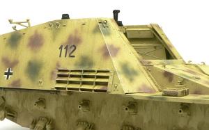 8.8cm対戦車自走砲ナスホルン ウオッシングとドライブラシ