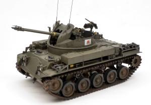 陸上自衛隊・M42A1ダスター自走高射機関砲 1/35 AFVクラブ