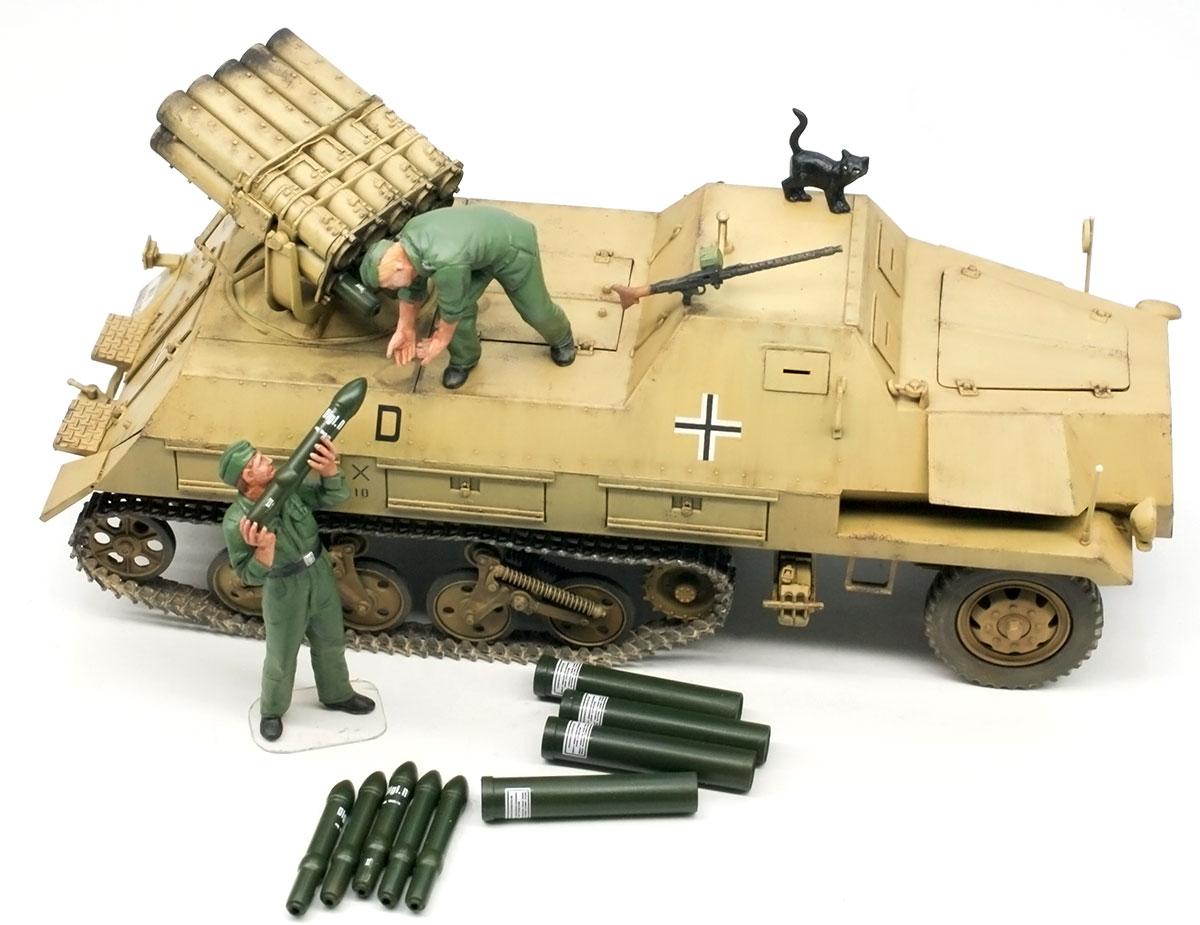 ドイツ・ロケット自走砲Sd.kfz.4/1パンツァーヴェルファー42型