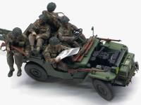 イギリス・6ポンド対戦車砲 空挺部隊 / 1/4tトラック 1/35 ブロンコ
