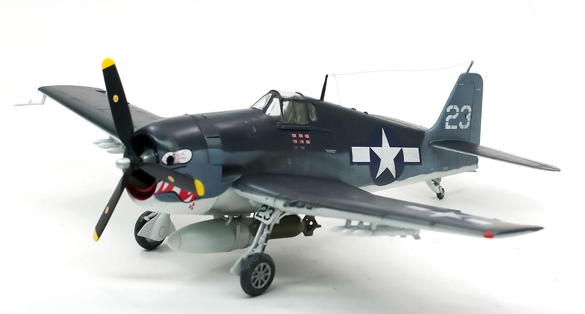 アメリカ海軍・F6F-3ヘルキャット 1/72 サイバーホビー