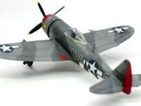 リパブリック・P-47Dサンダーボルト バブルトップ 1/72 ハセガワ