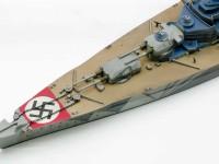 ドイツ海軍・戦艦ティルピッツ 1/700 アオシマ