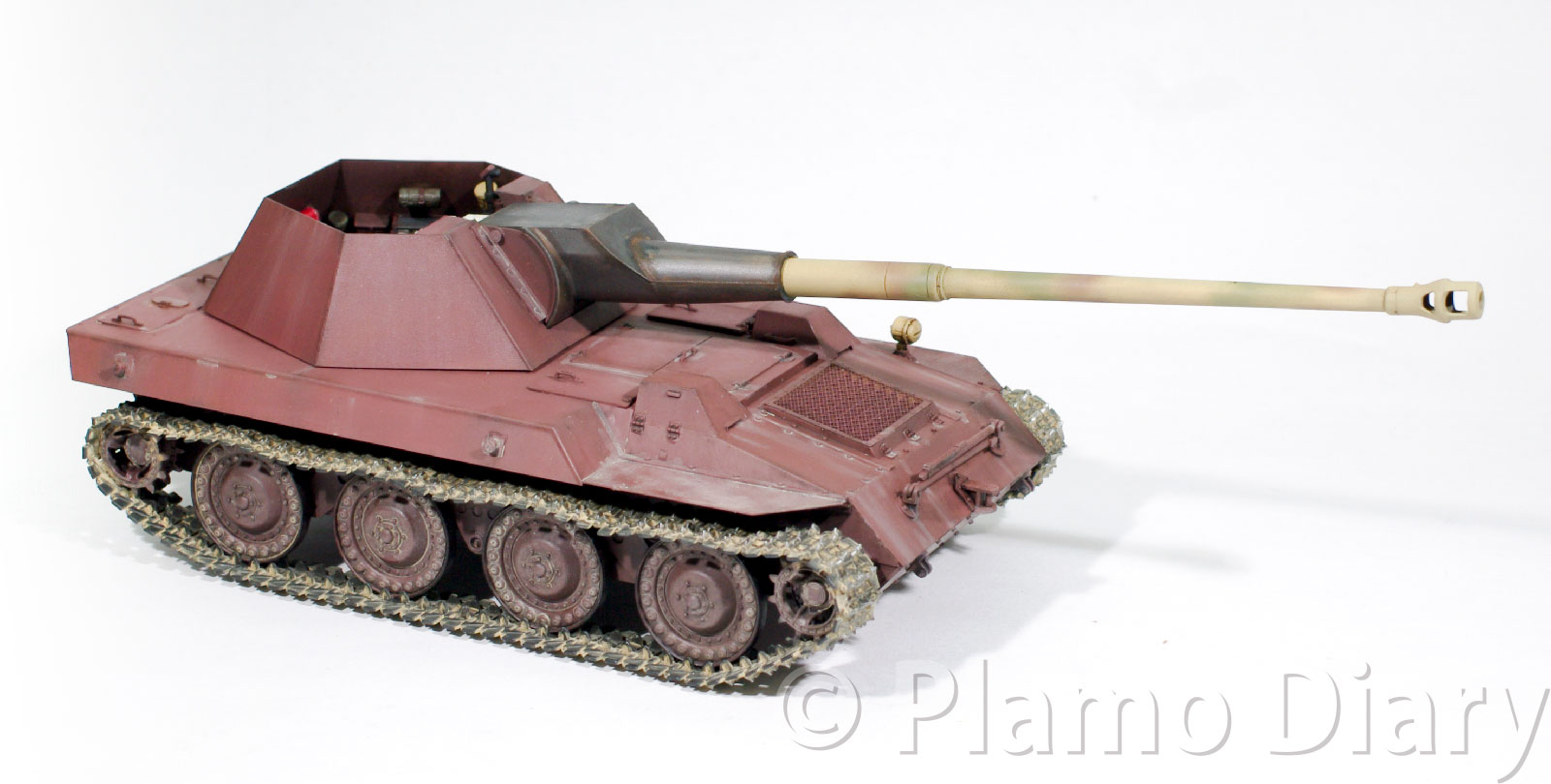 ドイツ・8.8cmPak43ヴァッフェントレーガー(シュタイアー・クルップ) 1/35 トランペッター