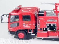 化学消防ポンプ車 大阪市消防局C6 1/72 アオシマ