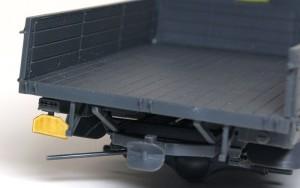 3トン4×2カーゴトラック ナンバープレート