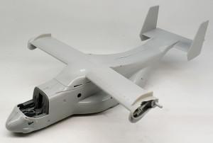 MV-22Bオスプレイ 機体の組立て
