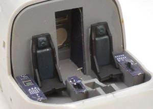 MV-22Bオスプレイ 座席と操作盤