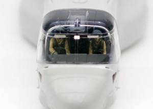 MV-22Bオスプレイ キャノピーの組立て