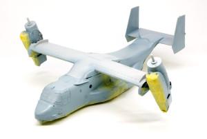 MV-22Bオスプレイ 塗装2色目