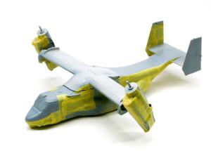 MV-22Bオスプレイ 3色目を塗るためのマスキング