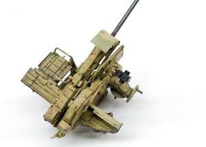 3.7cm対空砲のチッピング