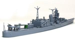 軽巡洋艦大淀 ザックリと仮り組み