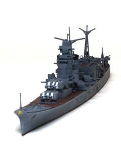 軽巡洋艦大淀 細部の塗分けと組立て