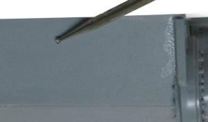 ティーガー1極初期型 圧延鋼板のテクスチャーを追加