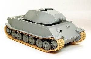 試作重戦車VK.45.02(P)V だいたいの組立て完了