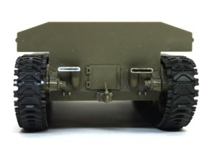 M4A3シャーマン 105mm榴弾砲搭載型 排気口を薄削り
