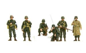 アメリカ歩兵・ラインへの進軍 1/35 ドラゴン