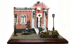 Feldkrankenhaus(野戦病院)  Diorama #9