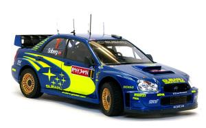 スバル・インプレッサWRC2004 ラリー・ジャパン 1/24 タミヤ