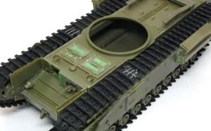 チャーチルMk.3 ベルト式履帯は接着できない