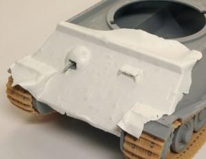 試作重戦車VK.45.02(P)V Bluebell式エポパテコーティング