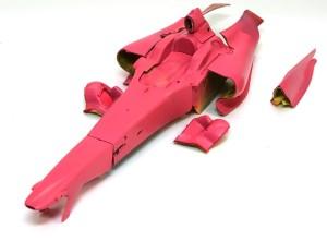 フェラーリ・F60 サフ吹き