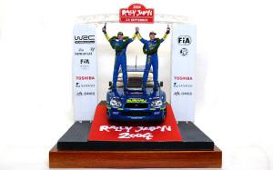 The Winner WRC2004 ラリー・ジャパン表彰式